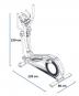 Housefit Motio 80 iTrain rozměry trenažéru
